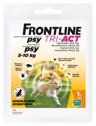 Frontline Tri-Act psi 5-10 kg spot-on 1 pipeta