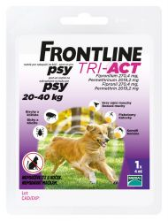 Frontline Tri-Act psi 20-40 kg spot-on 1 pipeta