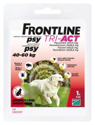 Frontline Tri-Act psi 40-60 kg spot-on 1 pipeta