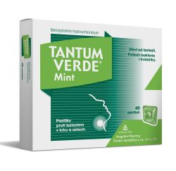 Tantum verde Mint 3 mg 40 pastilek