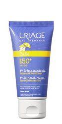 Uriage Bébé Minerální krém pro nejmenší SPF 50+ 50 ml