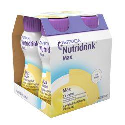 Nutridrink Max příchuť vanilka 4x300 ml
