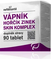 Nefdesanté Vápník Hořčík Zinek Skin komplex 90 tablet