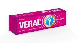 Veral 10 mg/g gel 100 g