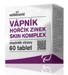 Nefdesanté Vápník Hořčík Zinek Skin komplex 60 tablet