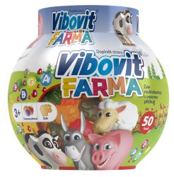 Vibovit FARMA želé multivitaminy 50 ks
