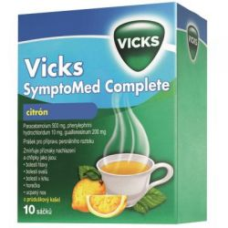 Vicks SymptoMed Complete citron 10 sáčků