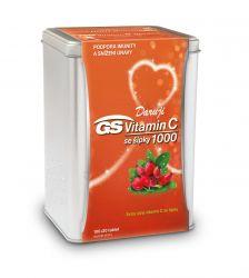 GS Vitamin C 1000 se šípky dárkové balení 100+20 tablet