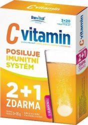 Revital C vitamin 2+1 zdarma 3x20 šumivých tablet