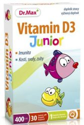 Dr.Max Vitamin D3 Junior twist-off 30 kapslí