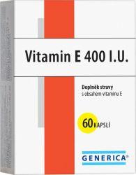 Generica Vitamin E 400 I.U. 60 kapslí