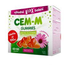 Cem-m gummies Imunita 60+60 tablet dárkové balení 2018