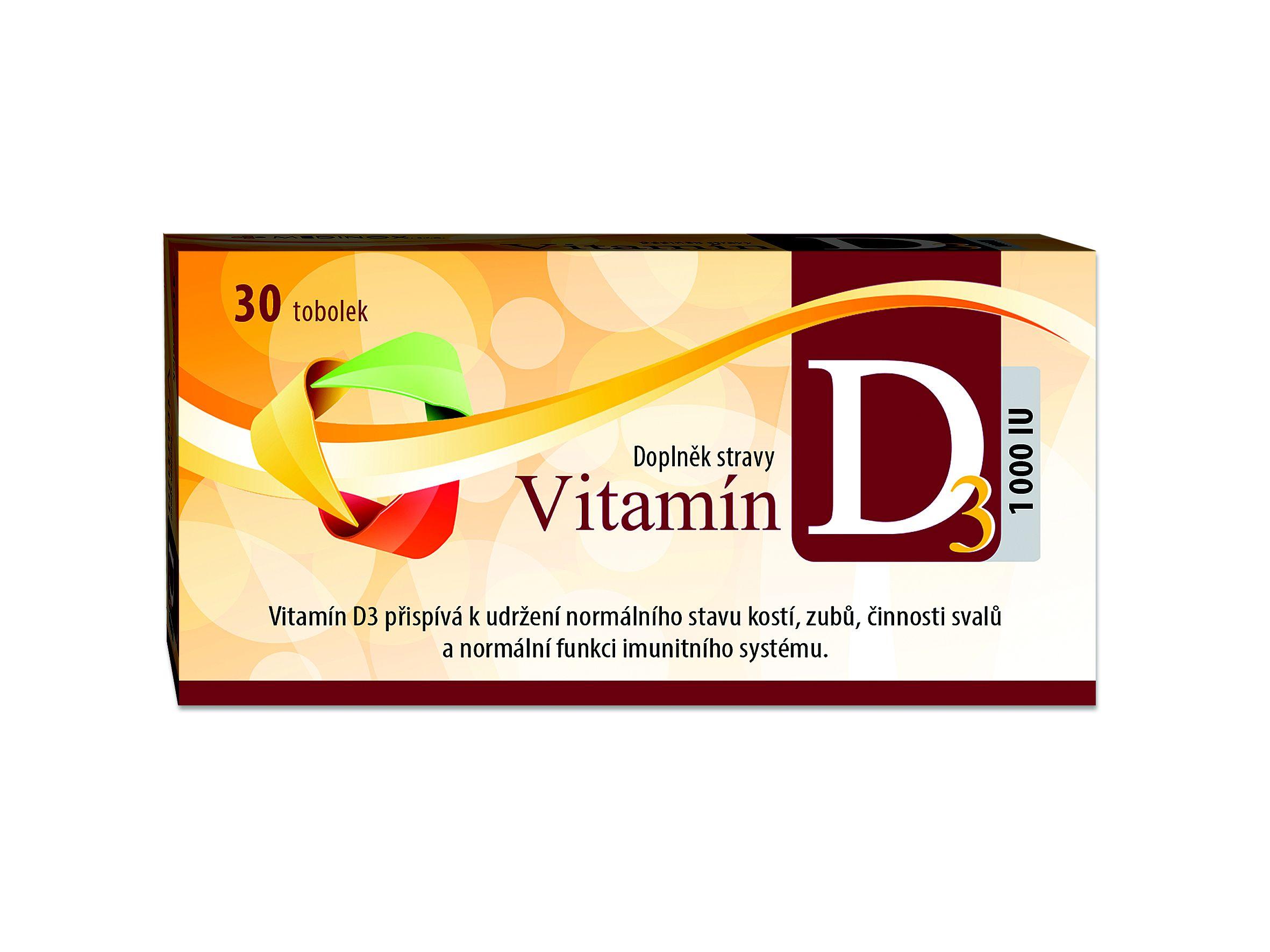 Vitamin D3 1000 I.U. 30 tobolek