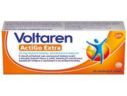 Voltaren ActiGo Extra 25 mg 20 tablet