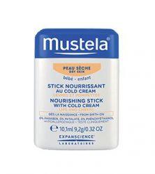 Mustela Vyživující tyčinka obohacená o cold cream na suchou pokožku 10 ml