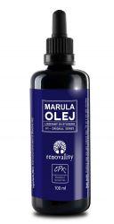 Renovality Marulový olej za studena lisovaný  100 ml