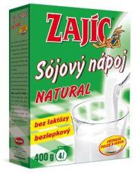 Zajíc Sójový nápoj NATURAL krabička 400 g