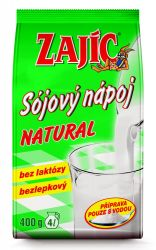 Zajíc Sójový nápoj NATURAL sáček 400 g