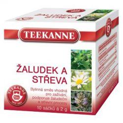 Teekanne Žaludek a střeva bylinný čaj porcovaný 10x2 g