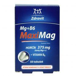 Zdrovit MaxiMag Hořčík 375 mg + B6 50 tobolek