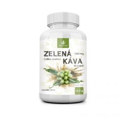 Allnature Zelená káva 1000 mg 60 kapslí