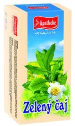 Apotheke Zelený čaj nálevové sáčky 20x1,5 g