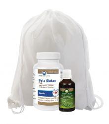 Pharma Activ Beta Glukan Forte 60 kapslí + Sibiřská jedle 50 ml dárkový set + dárek batoh