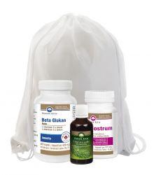 Pharma Activ Beta Glukan Forte 60 kapslí + Colostrum 60 kapslí + Sibiřská jedle 50 ml dárkový set + dárek batoh