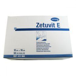 Zetuvit E Kompres nesterilní 10 x 10 cm 50 ks