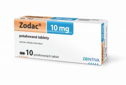 Zodac 10 mg 10 tablet