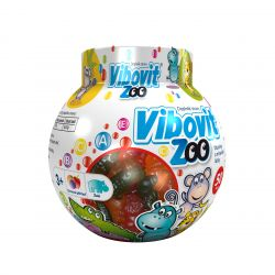 Vibovit ZOO želé multivitaminy 50 ks